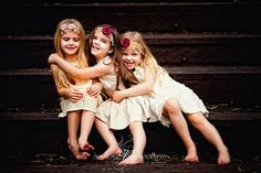 MINE AND CODY'S LITTLR GIRLS, (starting from the left) Isabelle Rose Simpson, Eleanor Jane Simpson, Amelia Elise Simpson.