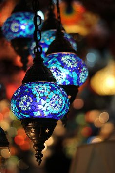 Turkish lights, I really like lights and lanterns