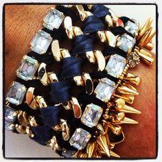 Tempest Bracelet and Renegade Cluster Bracelet by Stella & Dot