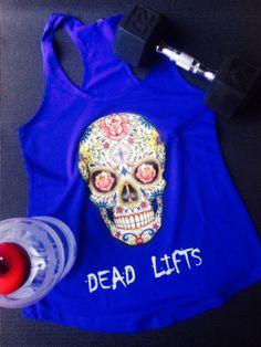 RG Sugar Skull Racerback Tank – Ripped Goddess