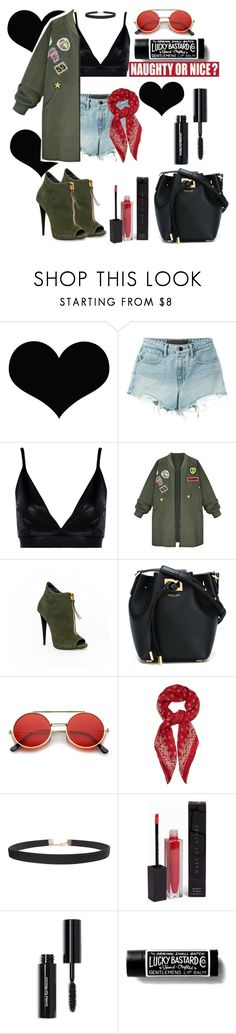 """Naughty"" by saraprifti on Polyvore featuring T By Alexander Wang, Boohoo, WithChic, Michael Kors, ZeroUV, Yves Saint Laurent, Humble Chic, MAKE UP STORE, Bobbi Brown Cosmetics and Sixtrees"