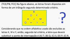 Curso de Raciocínio Lógico Sequência letras palavras Teste psicotécnico ... https://youtu.be/X3ZUbyAVNR4
