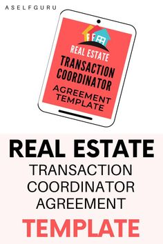 Every Transaction Coordinator will need a transaction coordinator agreement as part of their Virtual Real Estate TC Business. Click to get the Real Estate Transaction contract you can use with your clients to protect yourself as a transaction coordinator and avoid legal disputes, this template is written by a lawyer #workfromhome #jobfromhome #virtualassistant #realestateassistant #freelance #Transactioncoordinator #onlinebusiness #virtualrealestateassistant #legalcontract Creating A Business, Start Up Business, Business Tips, Online Business, Make Blog, How To Start A Blog, Make Money Blogging, How To Make Money, Transaction Coordinator
