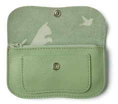 Cat chase wallet by Keezie