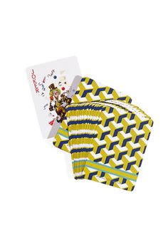 Robyn Glaser Home playing cards.
