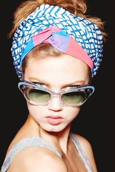 Trend Report: Head Scarves Please