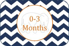 Labels to Organise Baby Clothes | Bria Hammel Interiorsand IHeartOrganizing