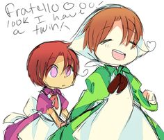 "Hetalia - 2p Chibitalia !<<<NONONNONONONONONONONONONONONONONONONONONONONONONONONONONONONONONO!!!!!!! FELICIANO YOU GET AWAY FROM THAT CHILD RIGHT NOW!!!! I AM WORRIED FOR YOUR SAFETY!!! DON""T LET HIM KNOW WHERE YOU LIVE!!!!!!"