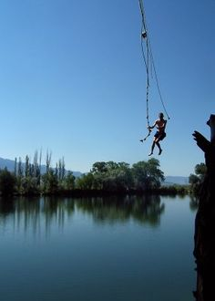 Love it and miss it.  Mona UT rope swing
