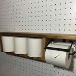 アイアン トイレットペーパーホルダー(ペーパー収納型) Interior And Exterior, Interior Design, Wood Rack, Art Furniture, Wood Shelves, Bath Accessories, Homemaking, Small Bathroom, Home Projects