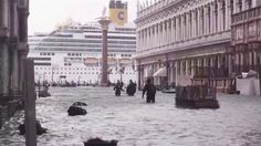 Heavy rain and strong winds have led to 70% of Venice being flooded, while some 200 people were evacuated from their homes in Tuscany because of severe weather. (via SkyNews)