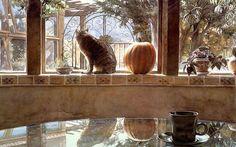 Steve Hanks - Cat and the Pumpkin