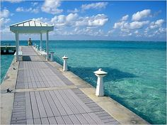 Rum Point Boat Docking Area ~ Grand Cayman Is. We had Lunch there on our vacation. Beautiful.