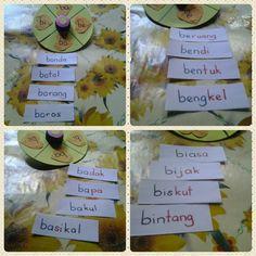 Bahasa Melayu Jomm putar suku kata..  Spin..find the words !