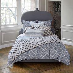 John Robshaw Textiles - Petra Cobalt - Bed Collections - BEDDING