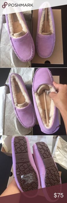 UGG authentic scalloped lilac bloom moccasins Sz 8 UGG authentic scalloped lilac bloom moccasins Sz 8 new 100% authentic itemcloset#4ci UGG Shoes