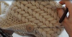 Merceria Ana Brualla: Tutorial Gorro Crochet en Vídeo / Hat Tutorial w/ written instructions Puff Stitch Crochet, Crochet Cap, Crochet Beanie, Crochet Braids, Diy Crochet, Crochet Stitches, Crochet Patterns, Crochet Kids Hats, Knitted Hats