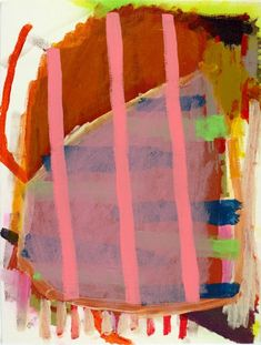 """cacaotree:    Henry Samelson  Puck, acrylic on canvas, 12 x 9"""", 2012"""