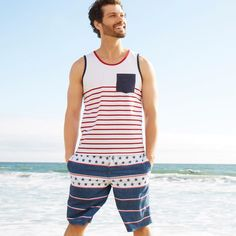 Red, white and blue for everyone!  Style the entire family in July 4th gear from Target. Shop American-themed outfit ideas today!