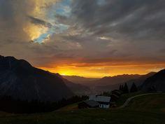 Www.ferienhotel.at #wellness hotel #austria #schweiz #skypool #vorarlberg #montain #berg #skypool Hotel Austria, Berg, Wellness, Celestial, Sunset, Outdoor, Switzerland, Outdoors, Sunsets