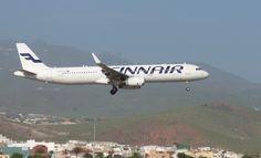 Canary Islands Spotting....Spotter: OH-LZH   Finnair    Airbus A321-231   LPA/GC   Spo...