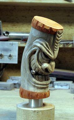 40 Far-Fetched Small Wood Carving Projects Holzschnitzen , 40 Far-Fetched Small Wood Carving Projects 40 Far-Fetched Small Wood Carving Projects. Tree Carving, Wood Carving Art, Wood Art, Wood Carving Patterns, Carving Designs, Tiki Faces, Tiki Head, Tiki Totem, Tiki Tiki