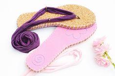 Flip Flops selber machen: Ziernaht und der letzte Feinschliff