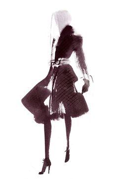 Aurore De La Morinerie #fashionillustration #artluxedesigns
