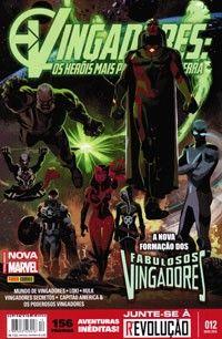 LIGA HQ - COMIC SHOP VINGADORES HEROIS MAIS PODEROSOS DA TERRA #12 PARA OS NOSSOS HERÓIS NÃO HÁ DISTÂNCIA!!!