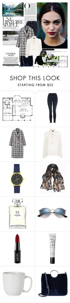 """""""If someone isn't available during your most crucial time, then their presence any other time is useless."""""""" by mars ❤ liked on Polyvore featuring Une, Topshop, White House Black Market, Chanel, NYX, NARS Cosmetics, Juliska, LC Lauren Conrad and IRO"""