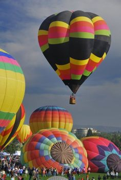 Hot Air Balloon Festival Steamboat Springs CO