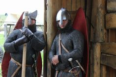 Scara Regis reenactment - Norman knights are watching you...