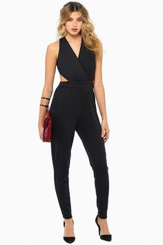 Here's To You Jumpsuit #TOBI