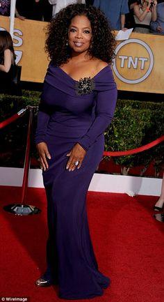 Oprah Winfrey Photo - SAG Awards 2014 Red Carpet Photos: What the . Purple Gowns, Purple Dress, Oprah Winfrey, Celebrity Couples, Celebrity Style, Sag Awards, Beautiful Black Women, Beautiful People, Celebs