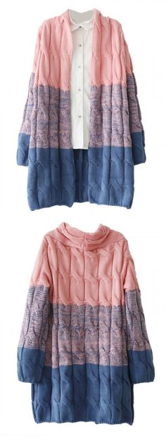 Love the color and style of this cardigan!