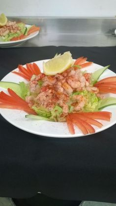 Prawn & Crayfish Cocktail from our Standard Fine Food package @GGWeddings