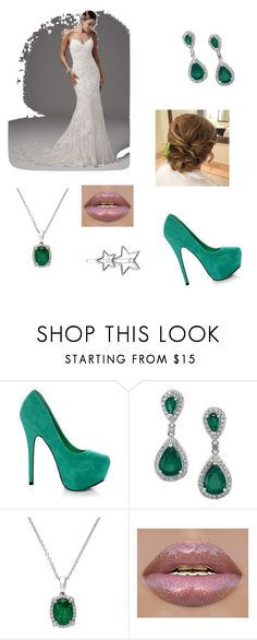 """Try"" by afarr on Polyvore featuring Maggie Sottero, Mystic Sea, Effy Jewelry and Boohoo"