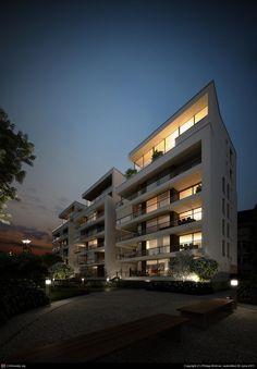 Author: Philipp Widmer | Website: www.pixcellent.ch/ - 50 Amazing Architectural Renders - Tuts+ 3D & Motion Graphics Article
