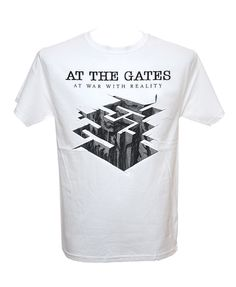Licensed Music T-shirt Brand New Never Been Worn Merchandise Cotton Short Sleeve T-Shirt Heavy Metal Fashion, Metal Shirts, Band Shirts, Metal Bands, Gates, Mens Tops, T Shirt, Sleeve, Music