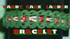 "Rainbow Loom® ""Candy Cane"" Ladder Bracelet Tutorial"