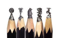 Game of thrones design- salavat fidai, scultore russo- matita