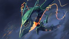 Mega Rayquaza is my favourite mega ever. Seriously, look at this thing, it's awesome! : D Oh yeah! Pokemon Rayquaza, Pokemon Dex, Mega Rayquaza, Charizard, Pokemon Champions, Pokemon Pictures, Anime Comics, Digimon, Manga