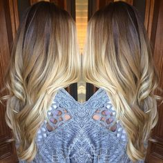 brown to blonde balayage - Google Search