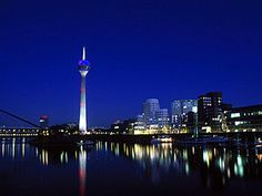 Rhine Tower, Dusseldorf, Germany
