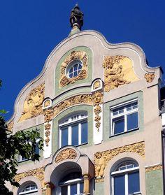 Konstanz - Jugendstil 11 by Arnim Schulz, via Flickr