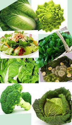 Los alimentos verdes son ricos en minerales como el potasio y el magnesio, que participan directamente en la contracción y relajación muscular. Es importante consumir alimentos verdes porque son la fuente natural más concentrada en fibra, colorantes y vitaminas antioxidantes.