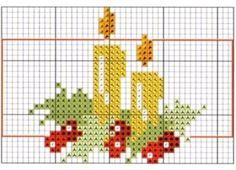 Cross Stitch Christmas Cards, Xmas Cross Stitch, Christmas Cross, Cross Stitching, Tiny Cross Stitch, Cross Stitch Designs, Cross Stitch Patterns, Embroidery Applique, Cross Stitch Embroidery