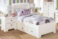 Alyn Twin Storage Bed