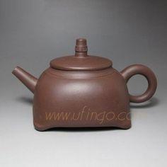Clock Shape Yixing Teapot