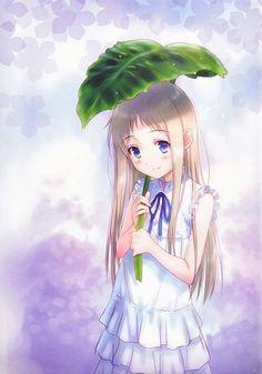 Menma no Me | AnoHana Anime Girl Cute, I Love Anime, Anime Art Girl, Anime Guys, Manga Anime, Anime Films, Anime Characters, Menma Anohana, Neko
